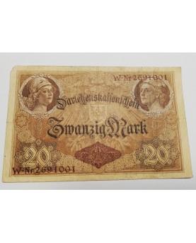 Vokietija. 20 Markių, 1914...