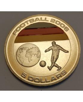 Liberija. 5 doleriai, 2005...