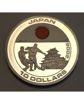 Liberija. 10 dolerių, 2005...