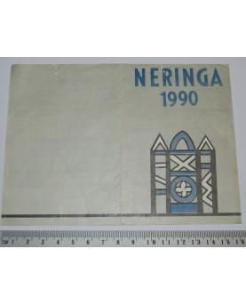 Leidimas į Neringą, 1990 m....