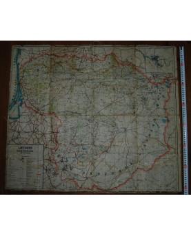 Lietuviškas ikikarinis Europos žemėlapis (34x24 cm), (n083)