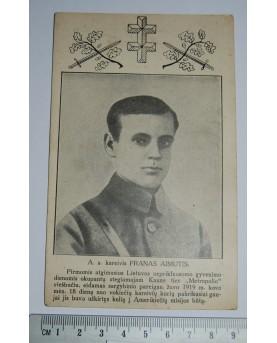 Kareivis Pranas Aimutis,...