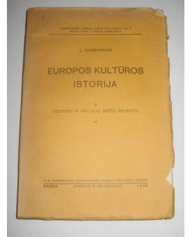 """Levas Karsavinas, """"Europos..."""