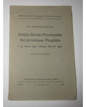 "A. Janulaitis, ""Enėjas..."