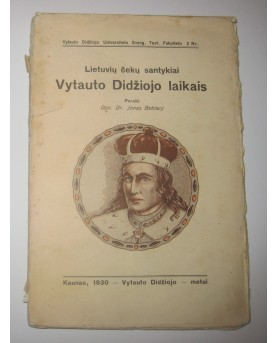 """Jonas Beblavy, """"Lietuvių..."""
