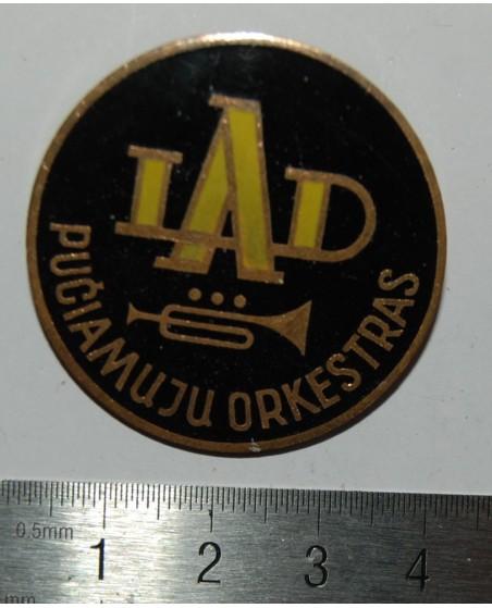 """Ženkliukas """"LAD Pučiamųjų orkestras"""", (zz127)"""