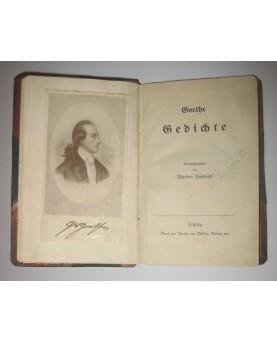 """J. W. Goethe, """"Gedichte"""""""