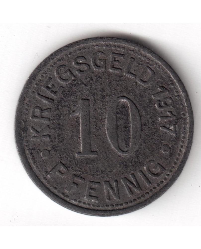 Vokietija. Notgeld 10 Pfennig 1917. Munster, (N350.1)