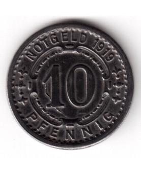 Vokietija. Notgeld 10 Pfennig 1919. Witten, (N604.5)