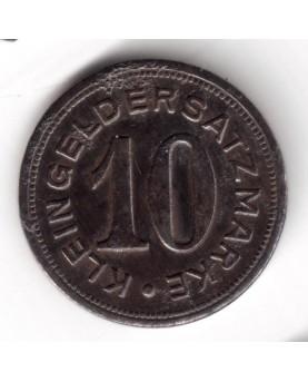Vokietija. Notgeld 10 Pfennig 1919. Pirmasens, (N426.10)