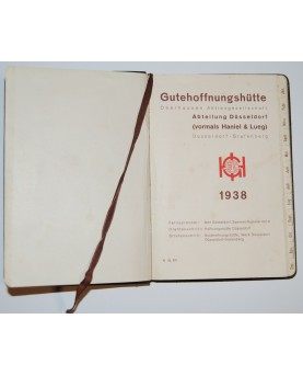 Vokiška užrašų knygutė –...