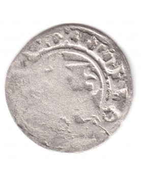 LDK. Aleksandras Jogailaitis. Pusgrašis. Gotika. Moneta iš lobio, nevalyta. (c1731)